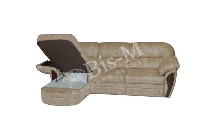 Лаура с оттоманкой - мебельная фабрика Бис-М. Фото №4. | Диваны для нирваны