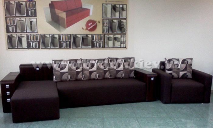 Лилак Ли VIP угловой - мебельная фабрика УкрИзраМебель. Фото №9.   Диваны для нирваны