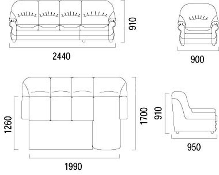 Болеро-3 угловой - мебельная фабрика Фабрика Ливс. Фото №1.   Диваны для нирваны