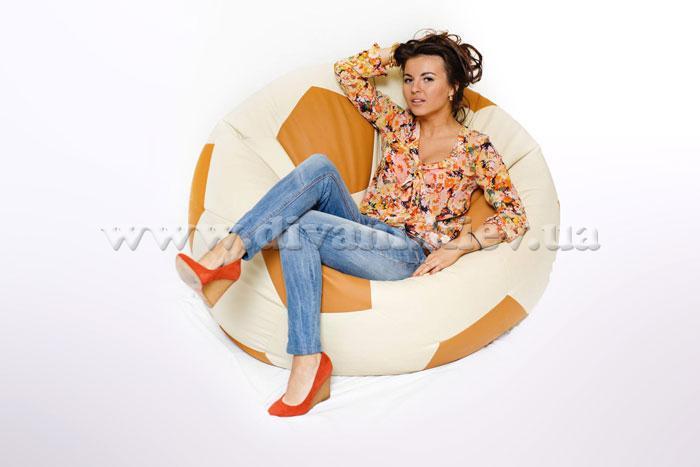 Кресло футбольный мяч кресло - мебельная фабрика Фабрика КМ. Фото №1.   Диваны для нирваны